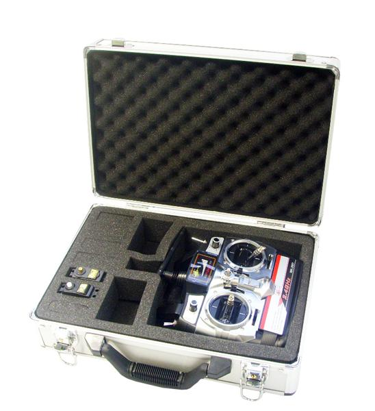 Multiple compartments to store your transmitter and gadgets.